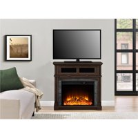 "Ameriwood Home Thompson Place Media Fireplace for TVs up to 37"" Cherry"