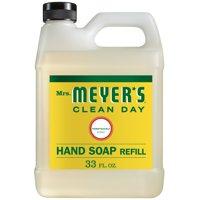 Mrs. Meyer's Clean Day Hand Soap Refill, Honeysuckle, 33 fl oz
