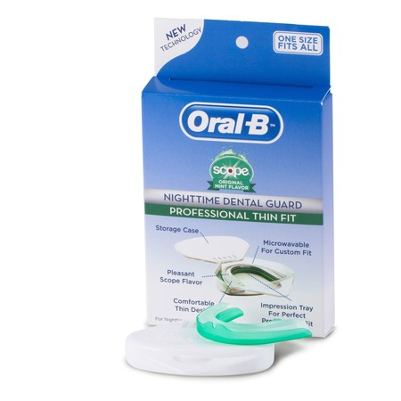Oral-B Plus Scope Nighttime Dental Guard (Best Otc Mouth Guard For Grinding Teeth)