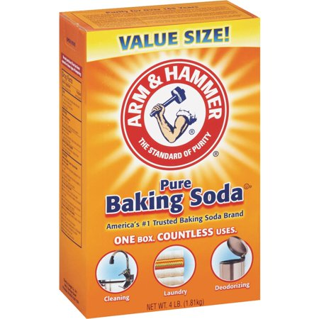 - (4 Pack) Arm & Hammer Pure Baking Soda, 4 lb