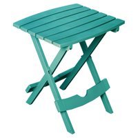 Adams Manufacturing Quik Fold Side Table, Teal