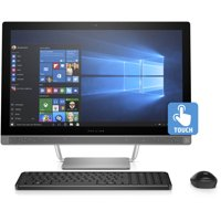 "HP Pavilion 24-b223w 23.8"" All-in-One PC, Intel Core i3-7100T, 6GB Memory, 1TB Hard Drive, Wireless Keyboard and Mouse, Windows 10"
