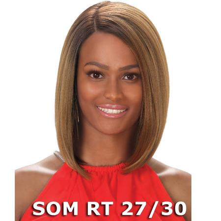 Sis Prime Human Hair Blend Lace Front Wig - RIME (FS1b/30) - Cheap Wigs For White Women