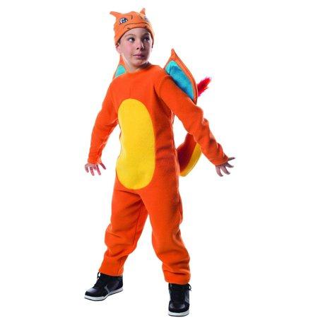 Pokemon Charizard Child Costume S - May Pokemon Costume