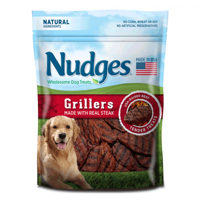 Nudges Grillers Made With Real Steak Dog Treats, 5.0 OZ