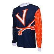 d82f6ad8b Adrenaline Promotions University of Virginia Cavalier Long Sleeve Mountain  Bike Jersey