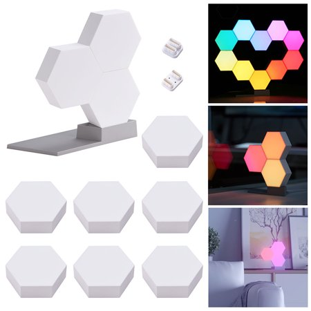 Yescom WiFi Smart  LED Light 16 Million Cololight Smartphone Control Works with Alexa Google Home Décor