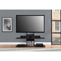 """Ameriwood Home Galaxy TV Stand with Mount for TVs up to 65"""" Wide, Black"""