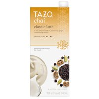 (6 Pack) Tazo Chai Latte Concentrate Black Tea 32 oz