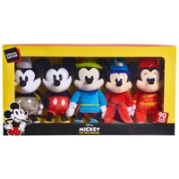 Mickey's 90th Bean Collector Set - 5 Pack