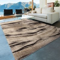 Orian Rugs Abstract Brushed Bristol Multi-Colored Indoor/Outdoor Area Rug