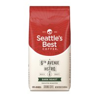 Seattle's Best Coffee 6th Avenue Bistro (Previously Signature Blend No. 4) Dark Roast Ground Coffee, 20-Ounce Bag