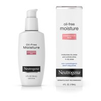 Neutrogena Oil Free Face & Neck Moisturizer for Combination Skin, 4 fl. oz