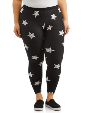 Women's Plus Size Printed Legging