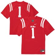 c95c3fe5bc8  1 Ole Miss Rebels Nike Youth Replica Football Jersey - Red