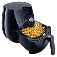 Philips Airfryer The Original Airfryer Fry Healthy with 75% Less Fat Black