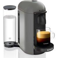 Nespresso VertuoPlus Coffee and Espresso Maker by Breville, Grey