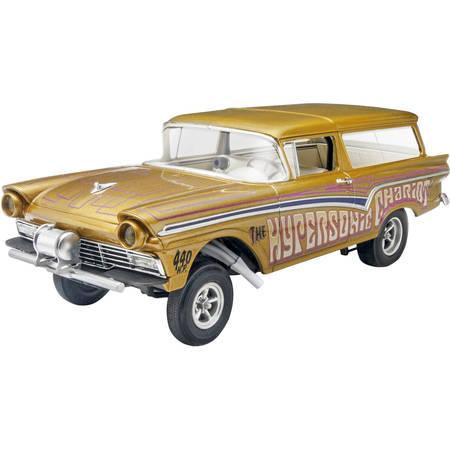 Revell 1:25 '57 Ford Gasser 2'n1 Plastic Model (Plastic Model Kit Reviews)