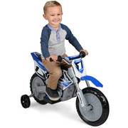 Yamaha 6-Volt Blue Motorcycle Battery Powered Ride On - Be a Champion Racer in the neighborhood!