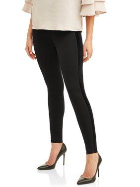 Women's Velour Stripe Ponte Pants