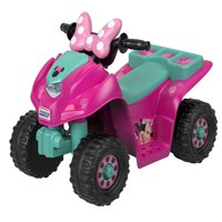 Power Wheels Lil' Quad Featuring Disney's Minnie Mouse