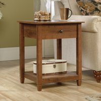 Sauder Edge Water Side Table, Multiple Finishes