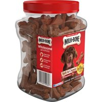 Milk-Bone Soft & Chewy Beef & Filet Mignon Recipe Dog Snacks, 25-Ounce