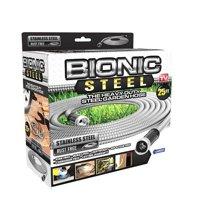 Bionic Steel Stainless Steel Super Durable Metal Garden Hose - Lightweight & Kink-Free, 25 ft- As Seen on TV
