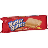 (2 Pack) Nabisco Nutter Butter Creme Patties, 10.5 Oz