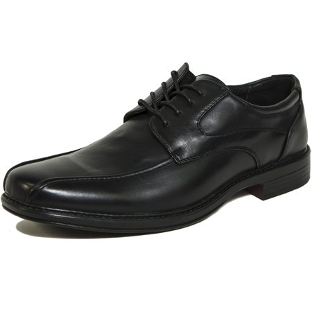 Leather Baseball Stitch - AlpineSwiss Mens Oxford Dress Shoes Lace Up Leather Lined Baseball Stitch Loafer
