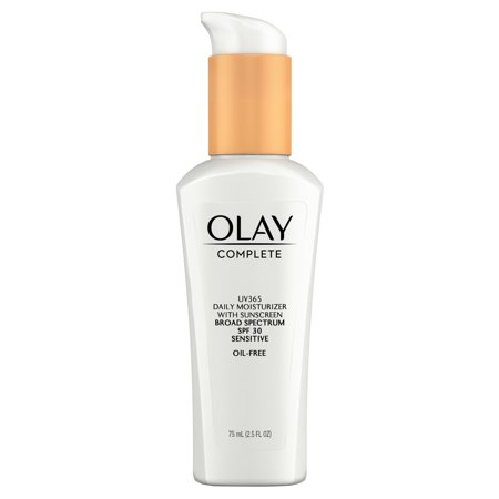 Olay Complete Lotion Moisturizer with SPF 30 Sensitive, 2.5 fl (Best Moisturizer For 30 Year Old)
