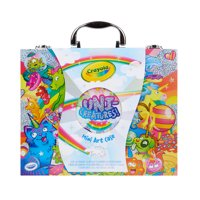 Deals on Crayola Uni-Creatures Mini Art Coloring Set, 100+ Pieces