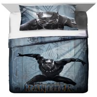 Black Panther 2 Piece Twin/Full Comforter and Sham Set