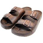 877d9037ddcf Pali Hawaii Brown Jandals with Buckle Jesus Hawaiian Sandal