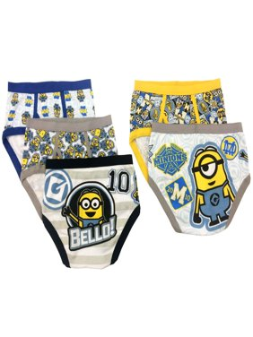 Despicable Me Boys' Underwear, 5 Pack