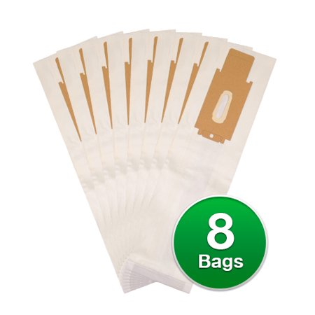 Replacement Type Cc Vacuum Bags For Oreck Xl Silver Series Vacuums 8 Count