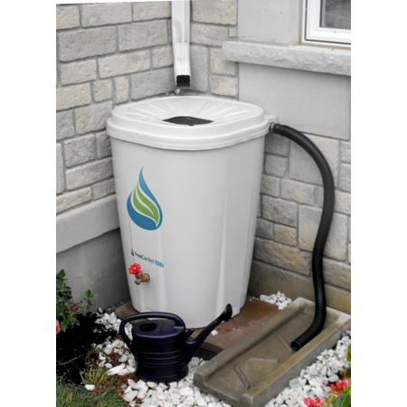 FreeGarden RAIN 55 Gallon Rain Barrel w/ Brass