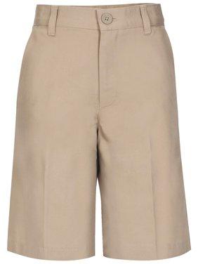 Boys Flat Front Shorts School Uniform Approved