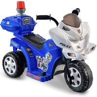 Kid Motorz Lil' Patrol 6-Volt Battery-Powered Ride-On Motorcycle