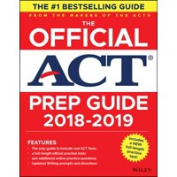 The Official Act Prep Guide 2019