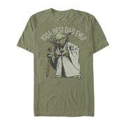 a4ae659e4 Star Wars Men's Yoda Best Dad Ever T-Shirt
