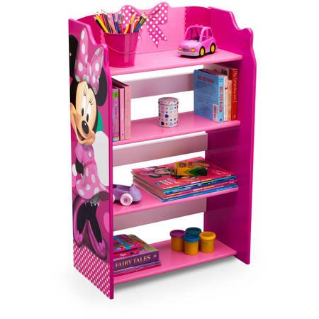 Disney Minnie Mouse Wood Bookshelf by Delta Children
