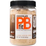 PBfit All-Natural Chocolate Peanut Butter Powder, 15 oz