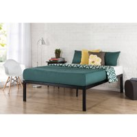 "Zinus Lorrick 18"" Quick Snap Metal Platform Bed, No Box Spring Needed, Multiple Sizes"