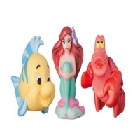 The First Years Disney The Little Mermaid Squirtee, 3 Pack