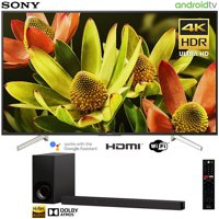 "Sony XBR70X830F 70""-class Bravia 4K HDR Ultra HD Smart LED TV (2018 Model) with Sony HT-Z9F 3.1ch Soundbar with Dolby Atmos"