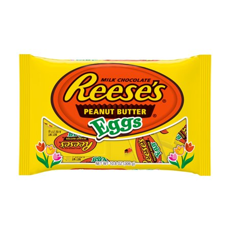 Reese's, Easter Milk Chocolate Peanut Butter Eggs Candy, 10.8 Oz