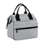 Earthwise Insulated Lunch Bag for Men & Women Heavy Duty Oxford Nylon for Adults and Kids