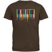 Piano Keys Brown Youth T-Shirt