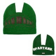 promo code c9655 57f75 NCAA Offically Licensed Michigan State Spartans Mascot Beanie Hat